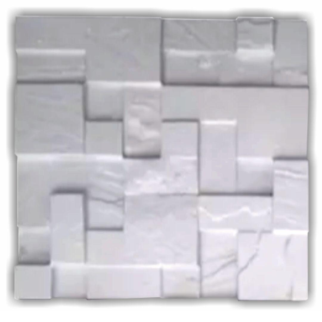 Forma De Gesso 3D em ABS - ABS0116-2MM 38,5x38,5cm