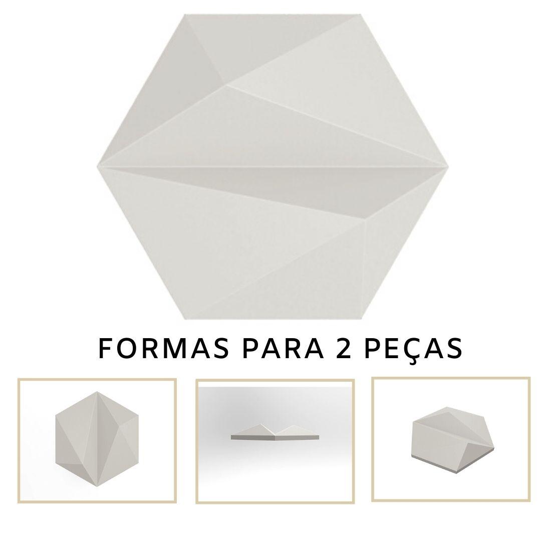 Forma De Gesso 3D em ABS - ABS0130-2MM 17,5x14,5cm