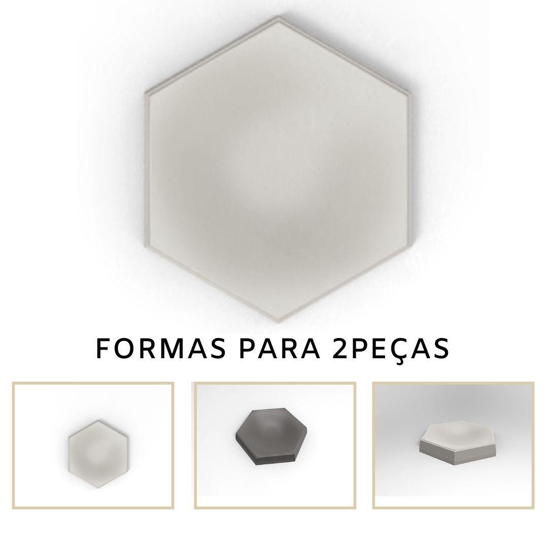 Forma De Gesso 3D em ABS - ABS0131-2MM 17,5x14,5