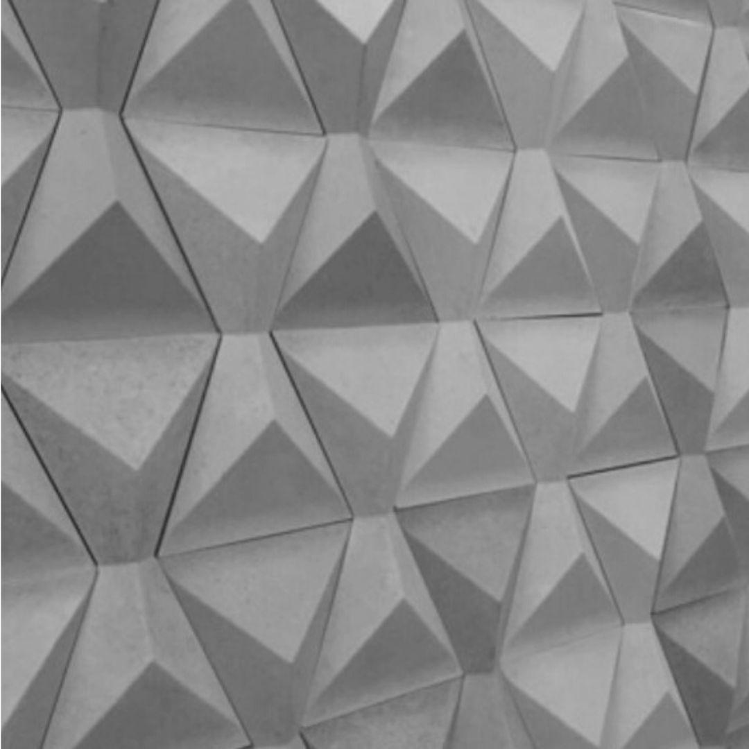 Forma De Gesso 3D em ABS - ABS0136-2MM 16x29cm