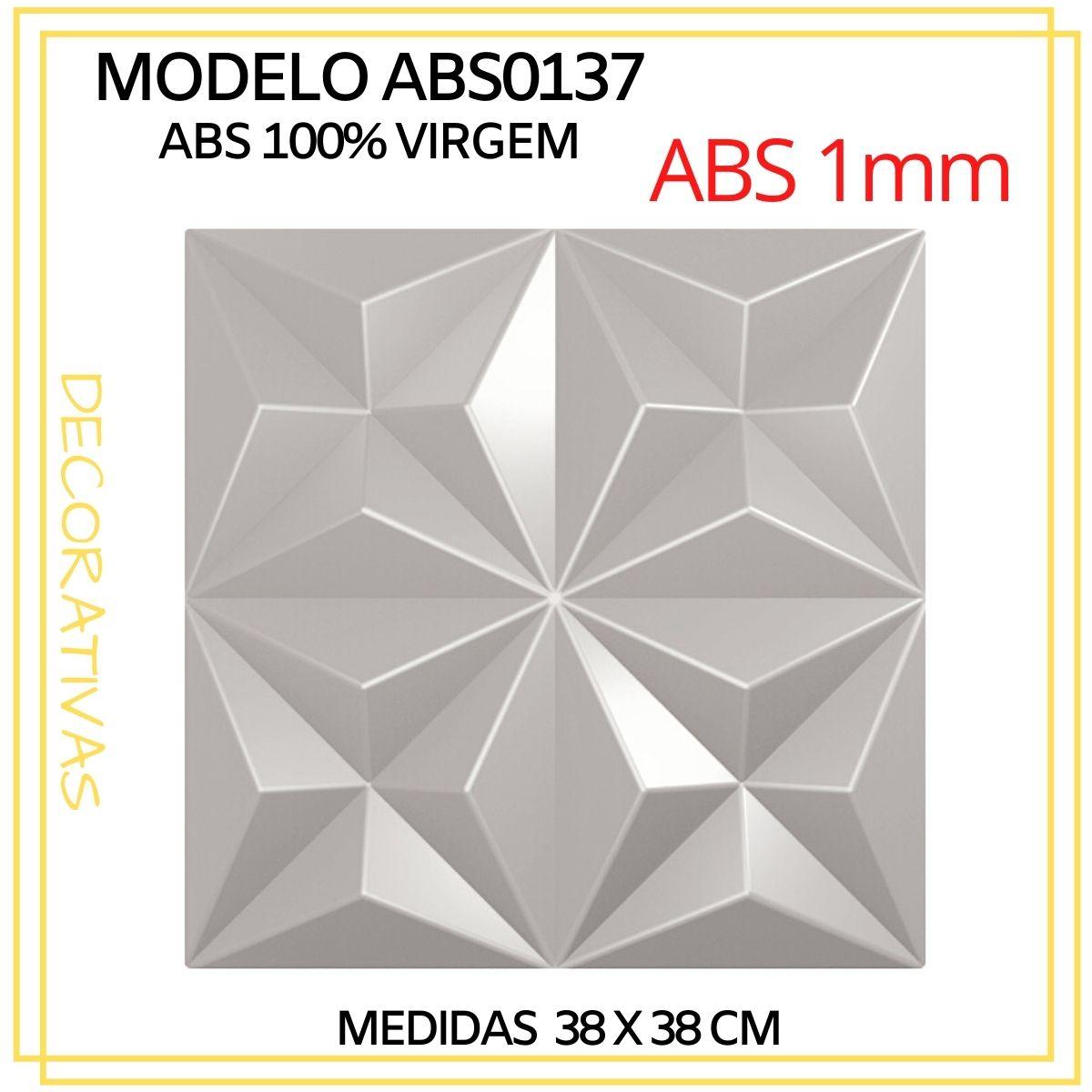 Forma De Gesso 3D em ABS - ABS0137-1MM 38x38cm