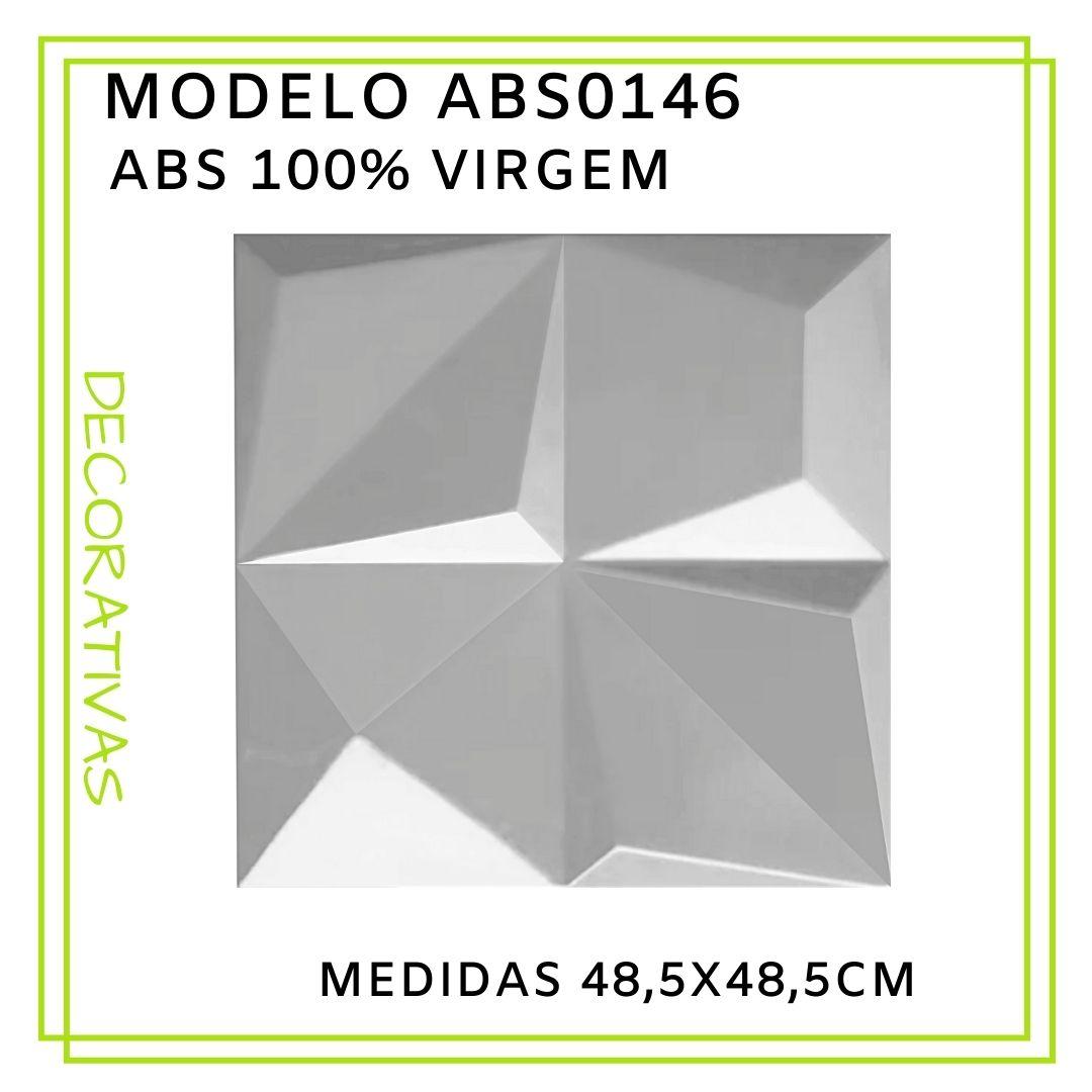 Forma De Gesso 3D em ABS - ABS0146-2MM 48,5x48,5cm