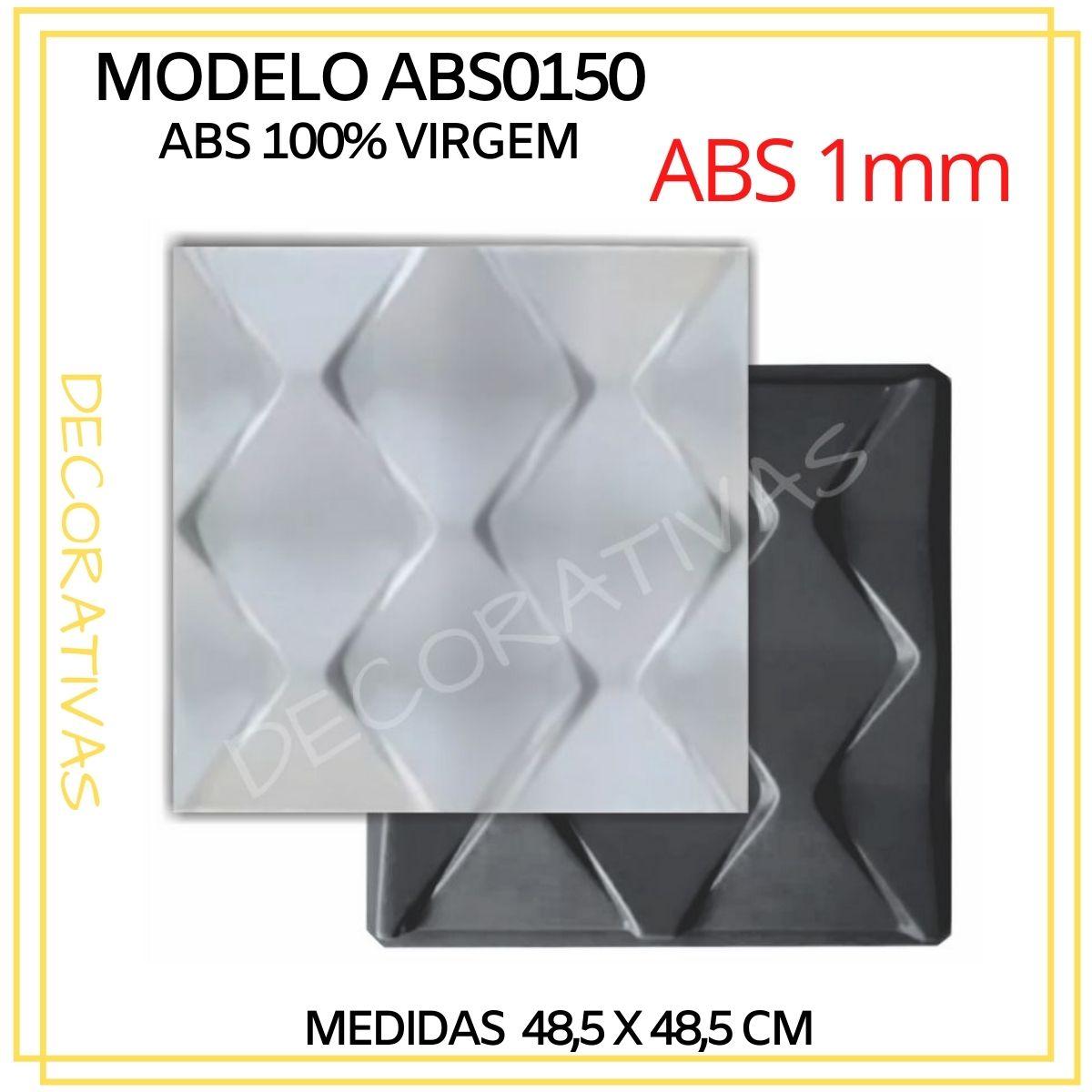 Forma De Gesso 3D em ABS - ABS0150-1MM 48,5x48,5cm