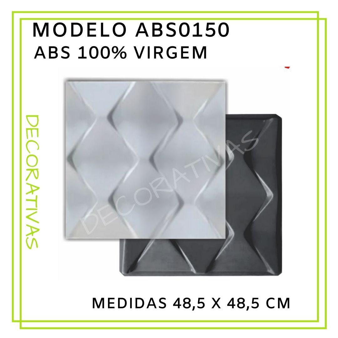 Forma De Gesso 3D em ABS - ABS0150-2MM 48,5x48,5cm