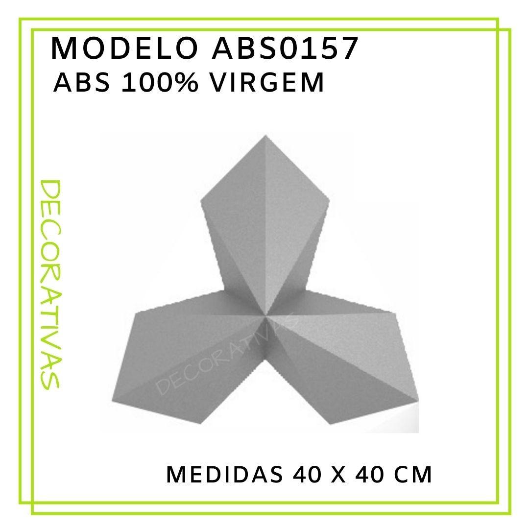 Forma De Gesso 3D em ABS - ABS0157-2MM 38x38cm