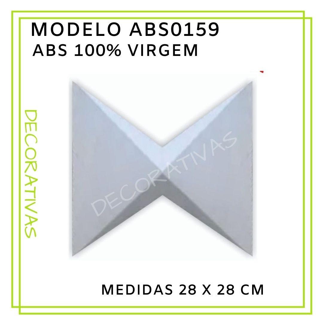 Forma De Gesso 3D em ABS - ABS0159-2MM 28x28cm