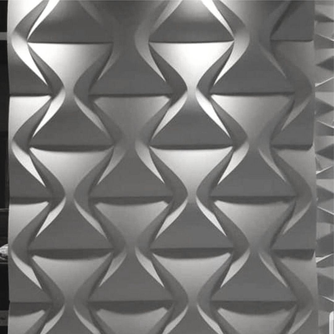 Forma De Gesso 3D em ABS - ABS0160-2MM 29x29cm