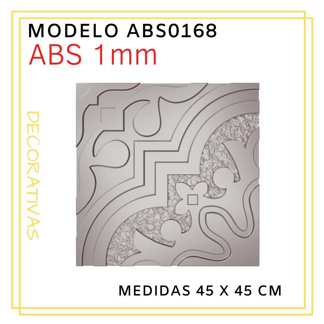 Forma De Gesso 3D em ABS - ABS0168-1MM  45x45cm