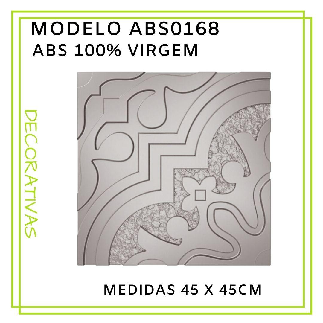 Forma De Gesso 3D em ABS - ABS0168-2MM  45x45cm