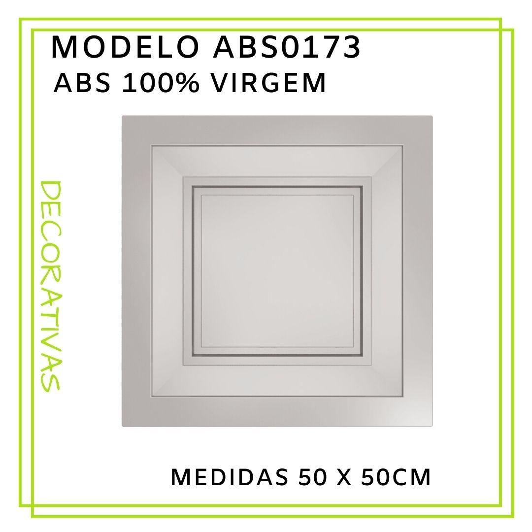 Forma De Gesso 3D em ABS - ABS0173-2MM 50x50cm