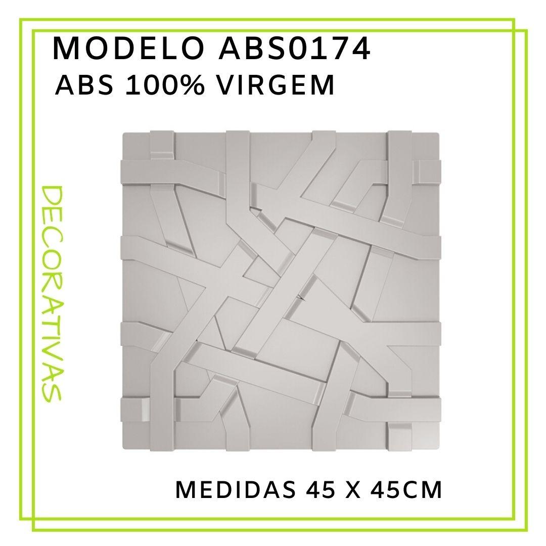 Forma De Gesso 3D em ABS - ABS0174-2MM 45x45cm