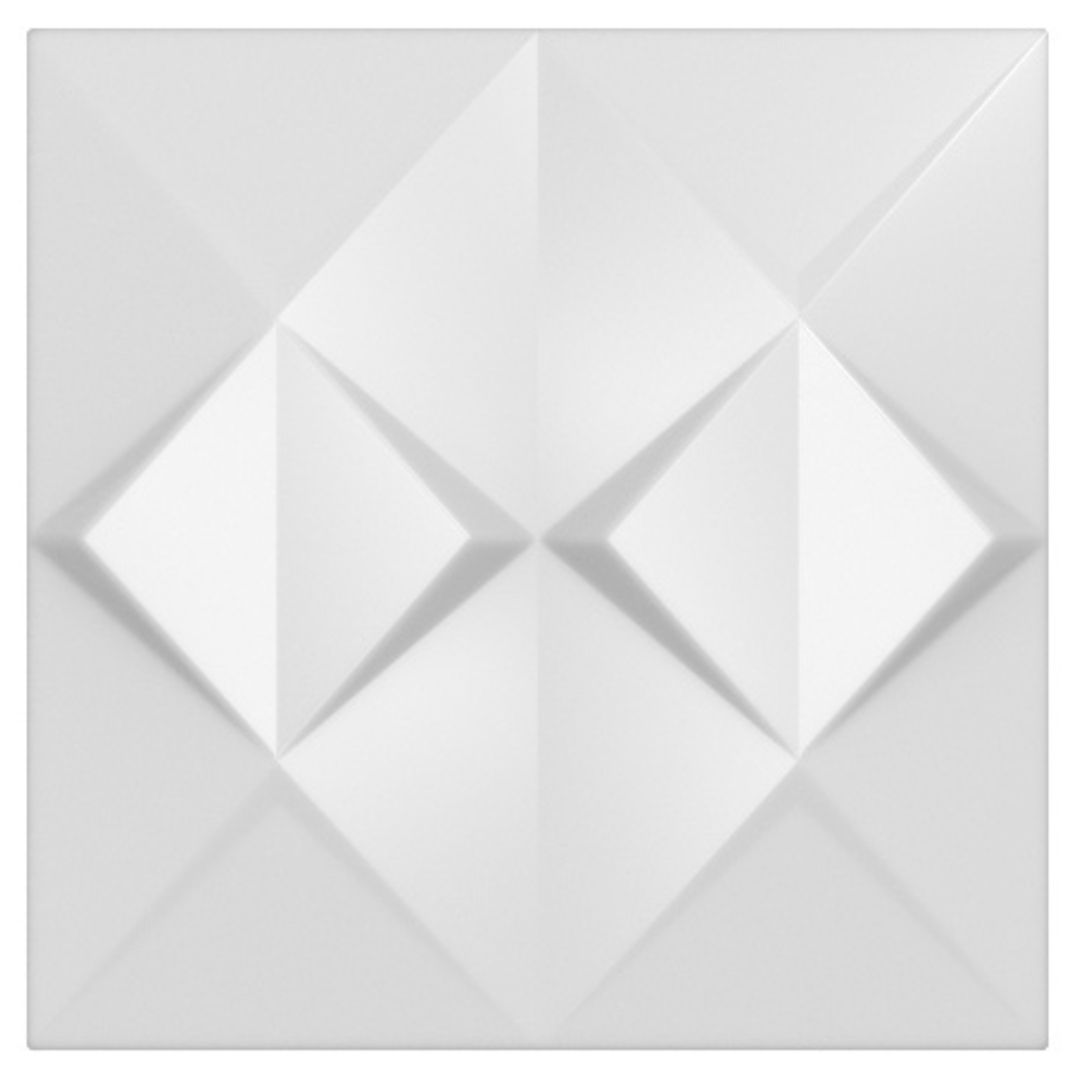 Forma De Gesso 3D em ABS - ABS0177-2MM  45x45cm
