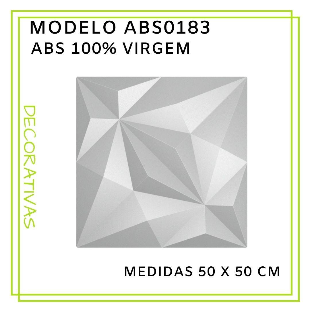Forma De Gesso 3D em ABS - ABS0183-2MM 50x50cm
