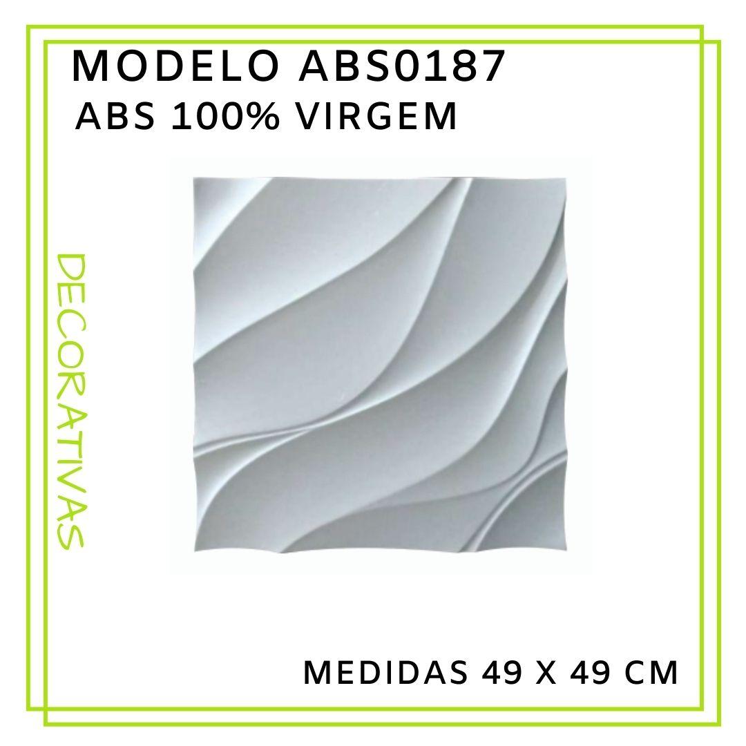 Forma De Gesso 3D em ABS - ABS0187-2MM 49x49cm