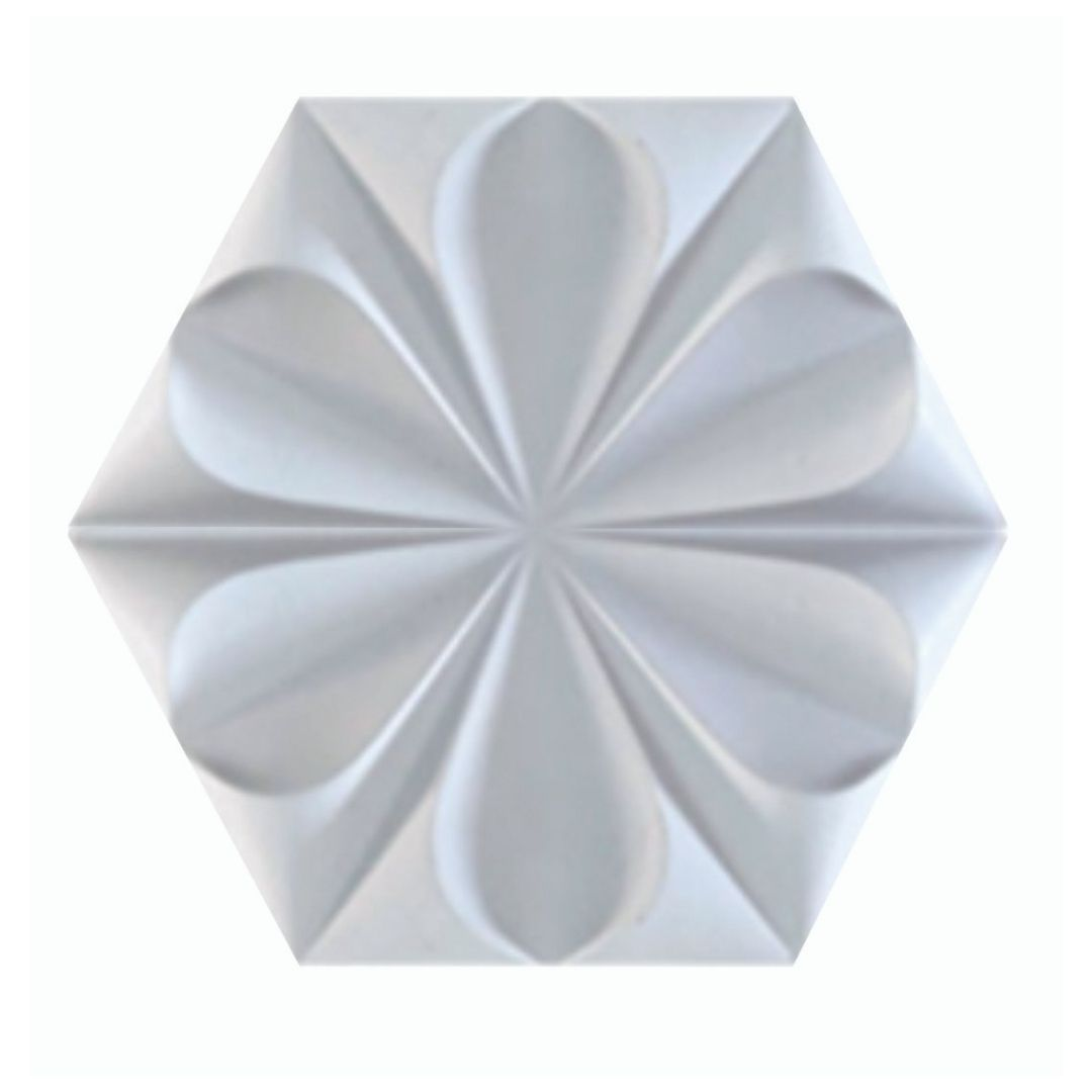 Forma De Gesso 3D em ABS - ABS0194-2MM 29,5x29,5cm