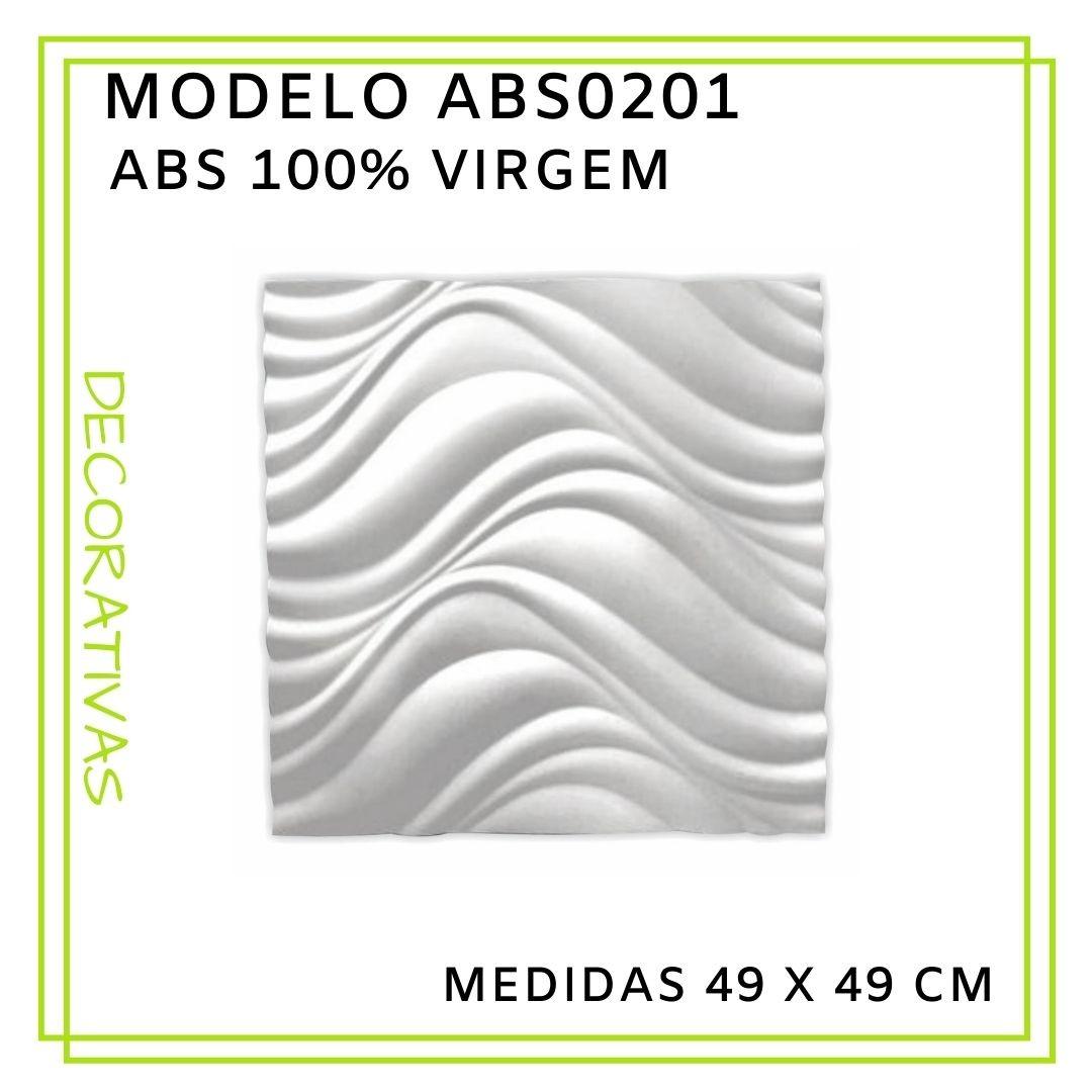 Forma De Gesso 3D em ABS - ABS0201-2MM 49x49cm