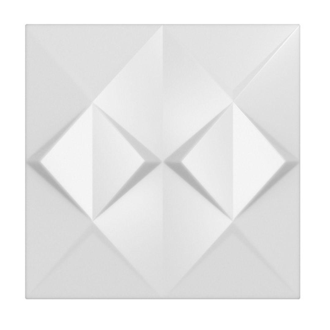 Forma De Gesso 3D em ABS- ABS0211-2MM 48,5x48,5cm