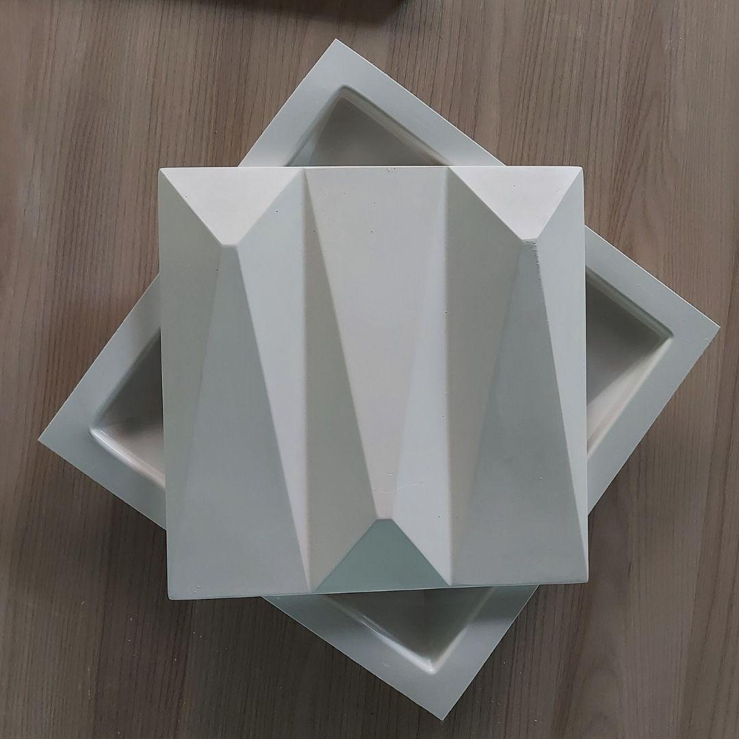 Forma De Gesso 3D em ABS - ABS0214-2MM 28x28cm