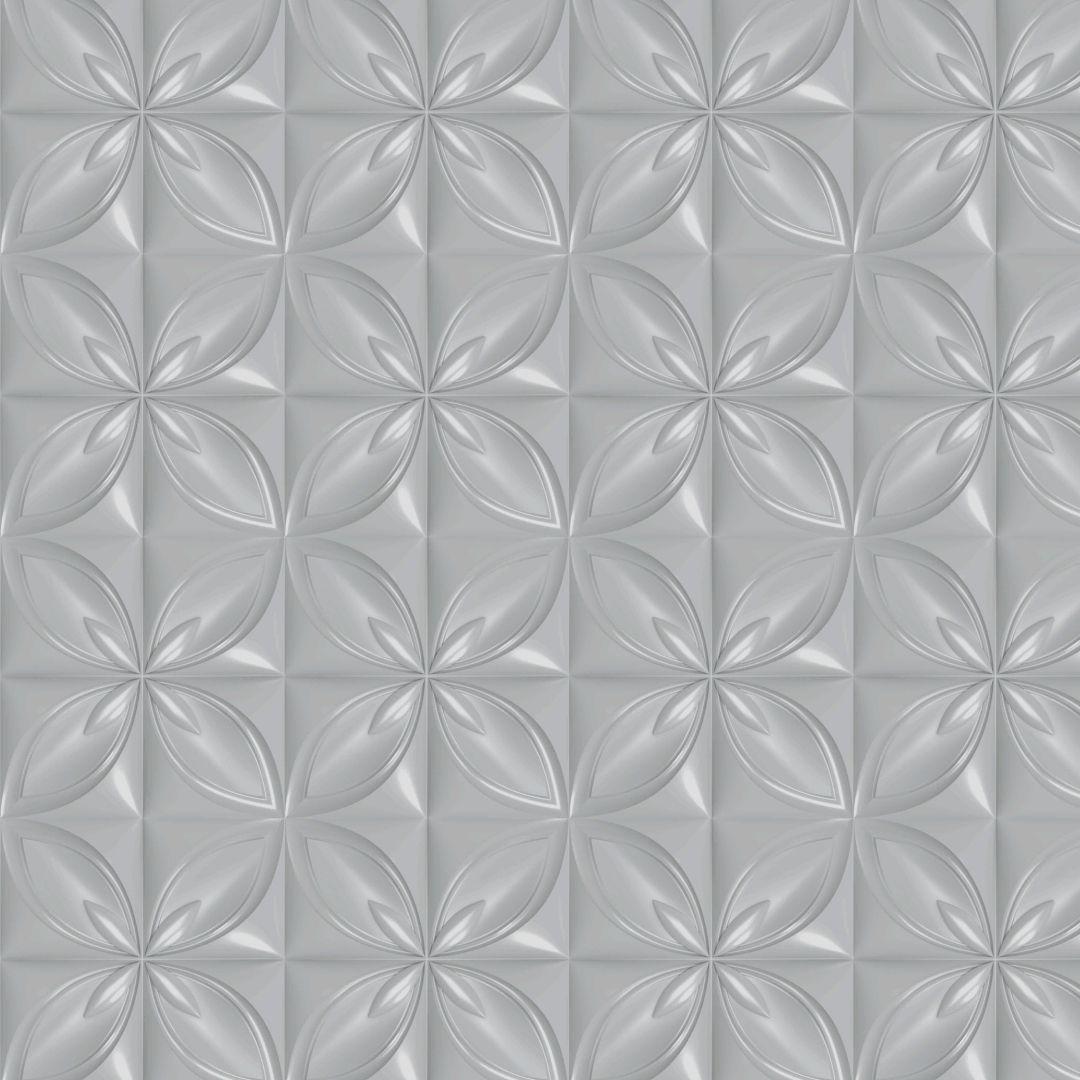 Forma De Gesso 3D em ABS - ABS0219-2MM 50x50cm