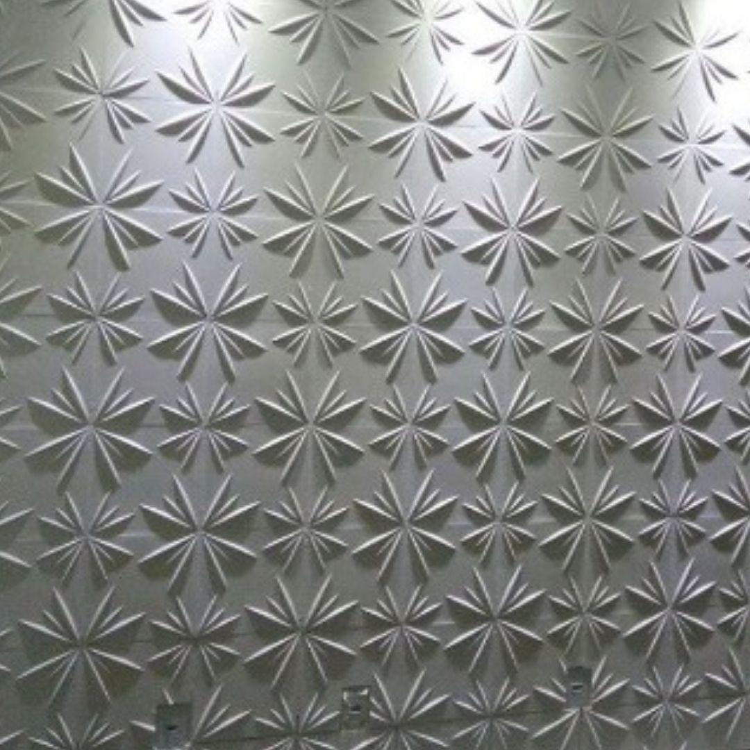 Forma De Gesso 3D em PET - PET0005-1.8MM 30x30cm