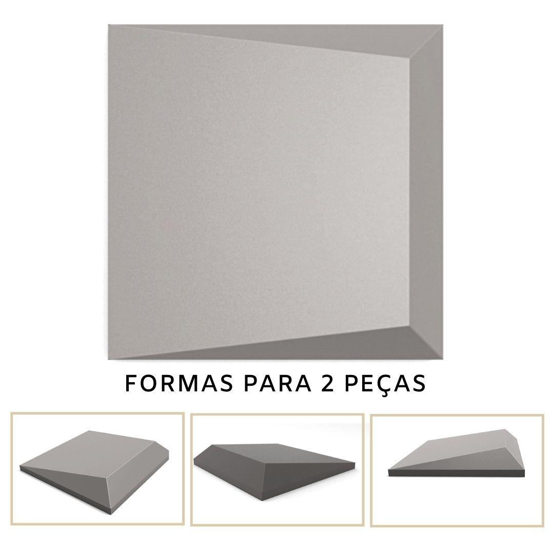 Forma De Gesso 3D em PET - PET0126-1.8MM 14,5x14,5