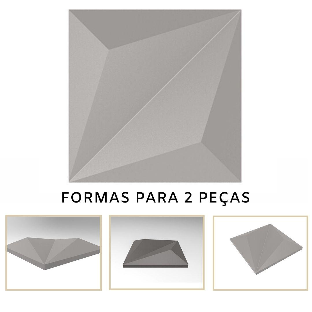 Forma De Gesso 3D em PET - PET0128-1.8MM 14,5x14,5