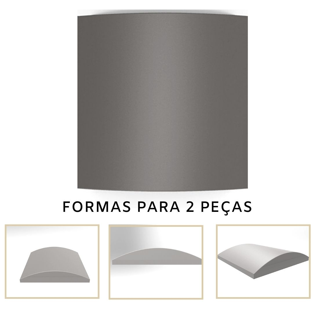 Forma De Gesso 3D em PET - PET0129-1.8MM 14,5x14,5