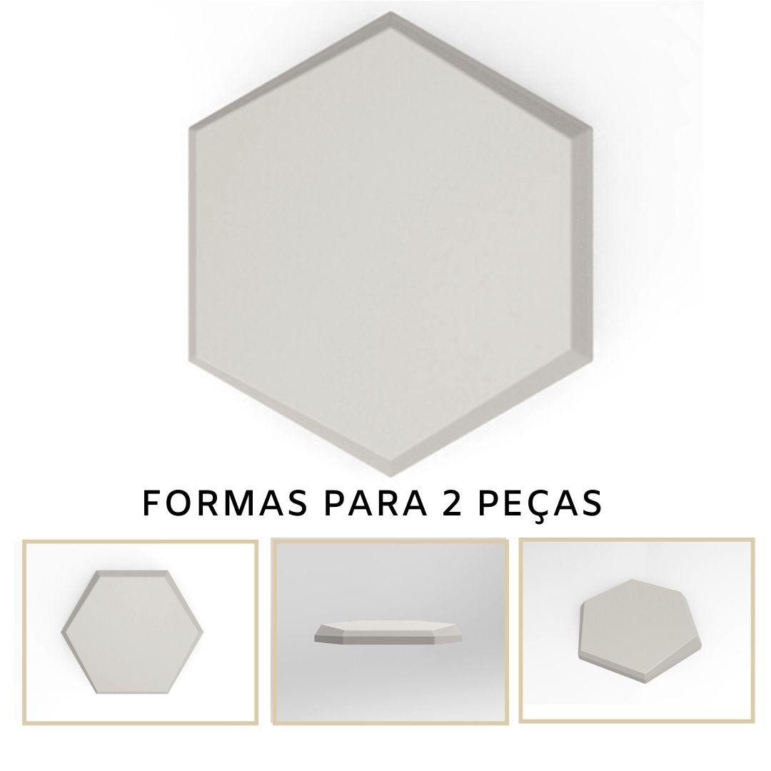 Forma De Gesso 3D em PET - PET0132-1.8MM 17,5x14,5