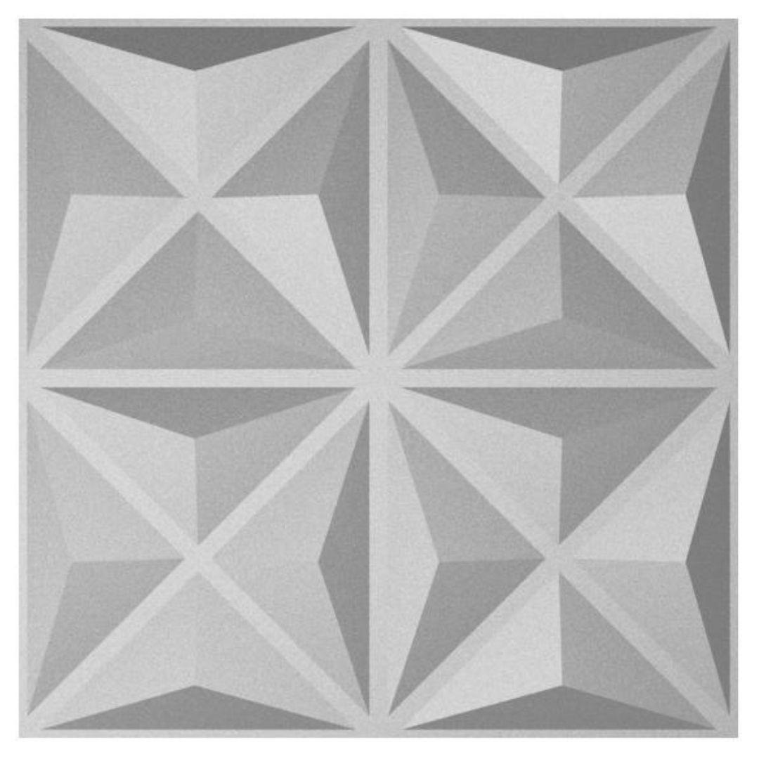 Forma De Gesso 3D em PET- PET0137-1.8MM 38x38cm