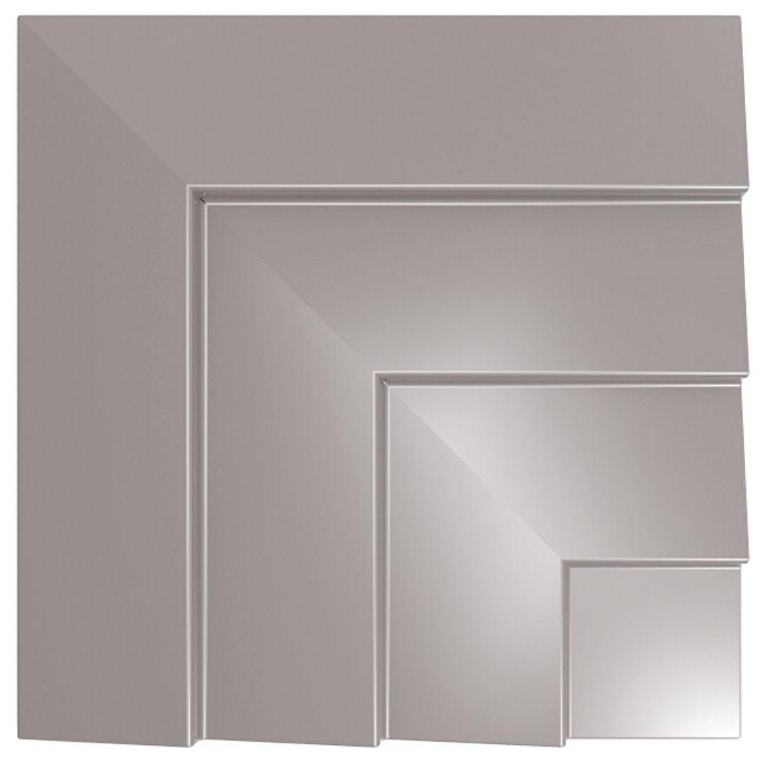 Forma De Gesso 3D em PET - PET0170-1.8MM  45x45cm