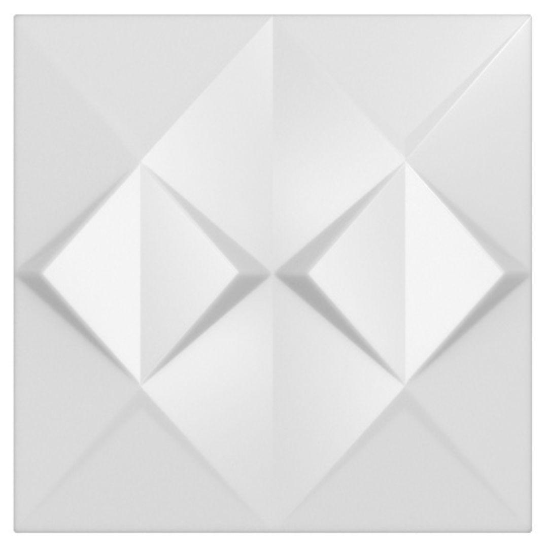 Forma De Gesso 3D em PET - PET0177-1.8MM 45x45cm