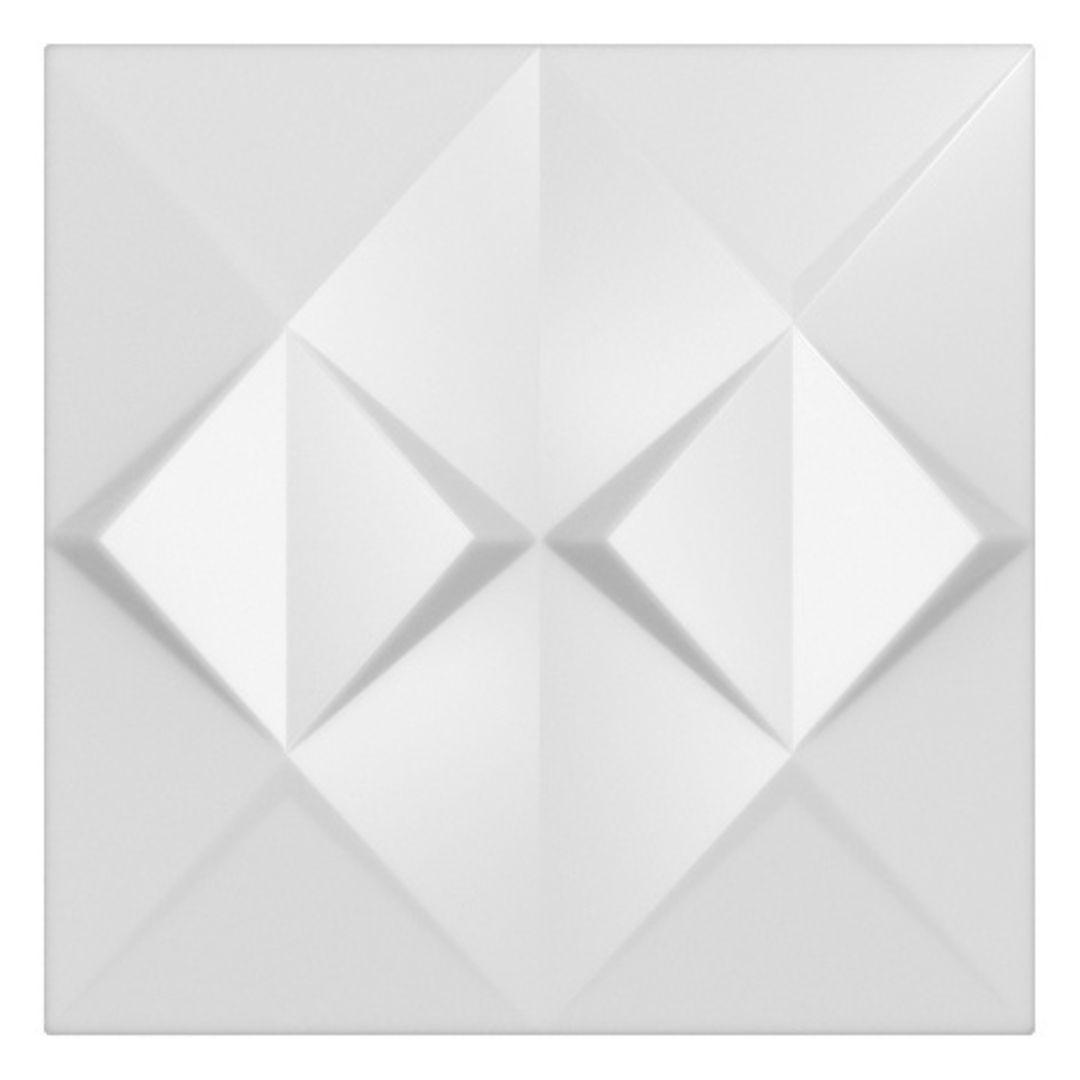 Forma De Gesso 3D em PET- PET0211-1.8MM 48,5x48,5cm
