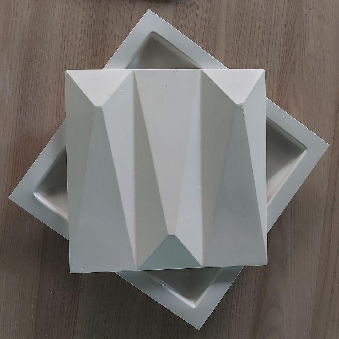 Forma De Gesso 3D em PET - PET0214-1.8MM 28x28cm