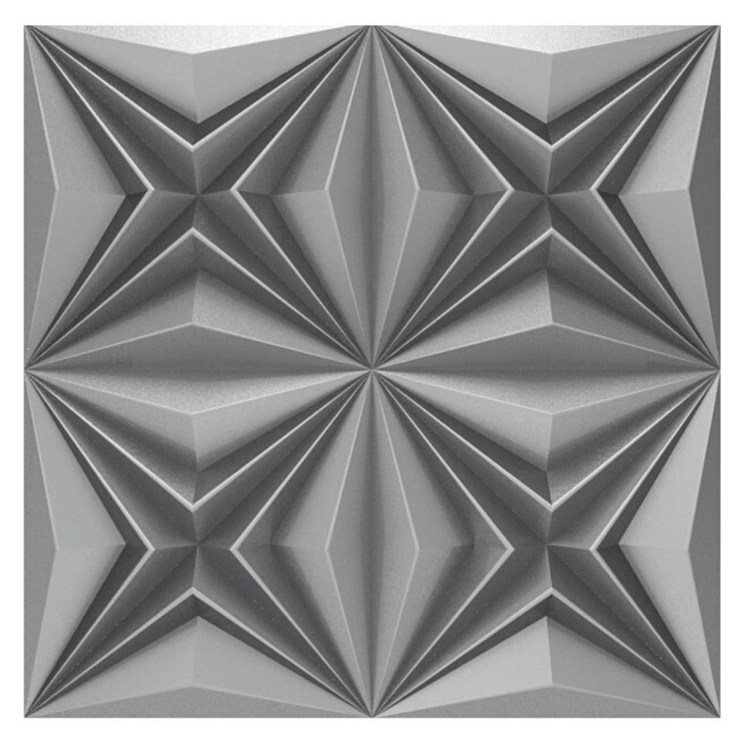 Forma De Gesso 3D em PET - PET0222 - 1.8MM 50x50cm