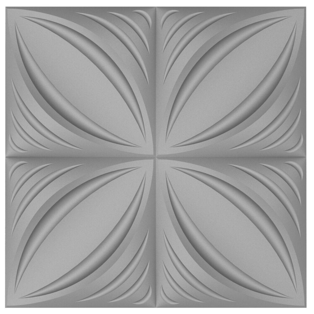 Forma De Gesso 3D em PET - PET0223 - 1.8MM 50x50cm