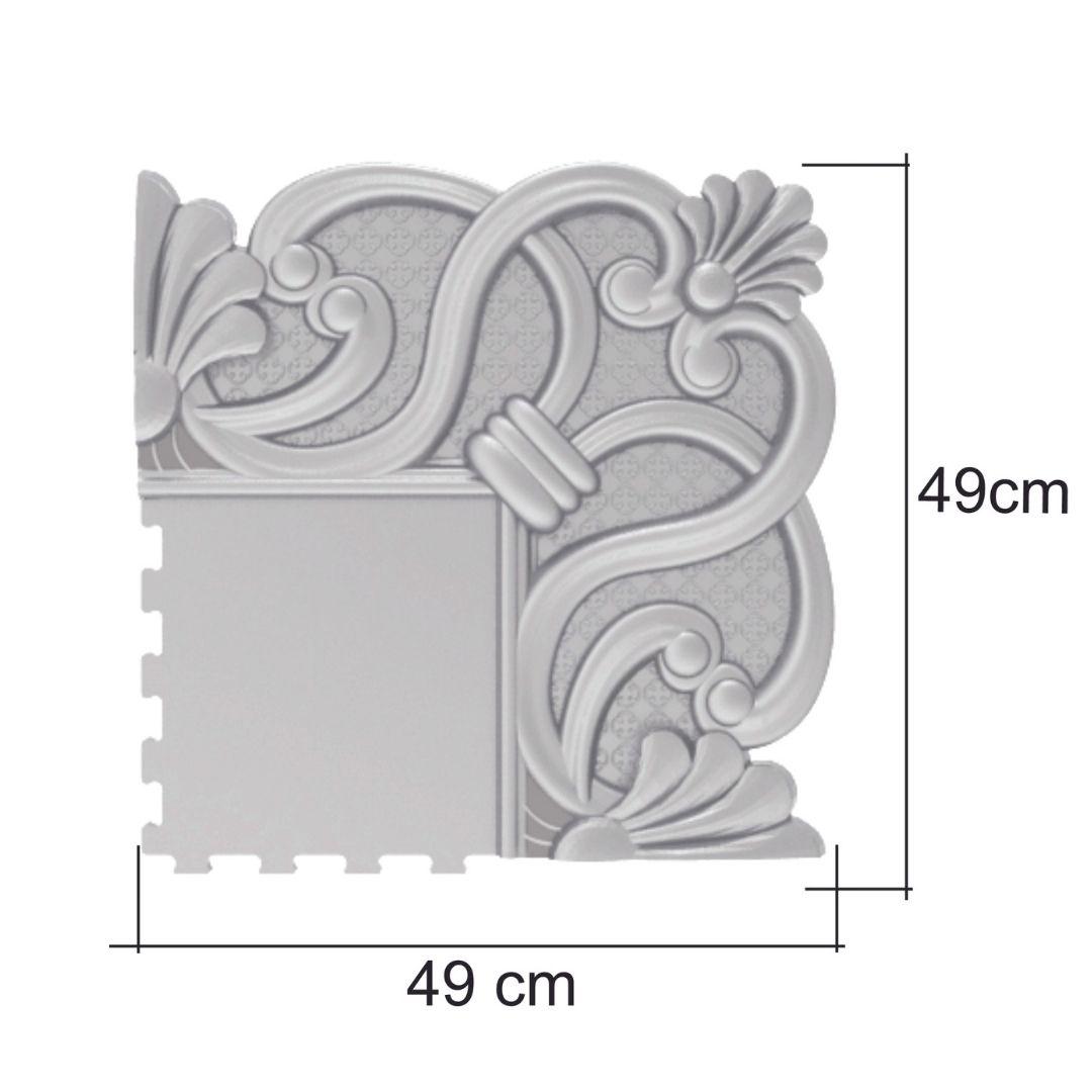 Forma De Moldura Em Gesso Para Espelho PET-ME0607