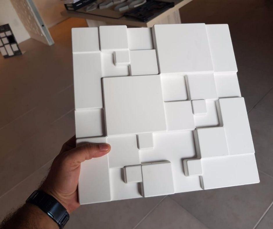 Forma em plástico injetado A0002