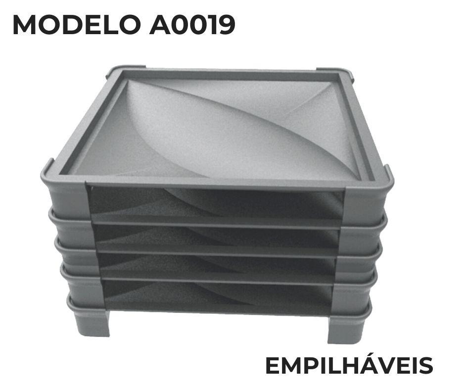 Forma em plástico injetado A0019