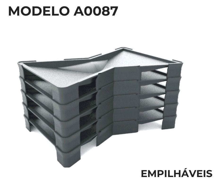 Forma em plástico injetado A0087