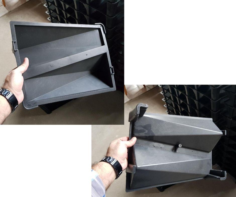 Forma em plástico injetado A0303