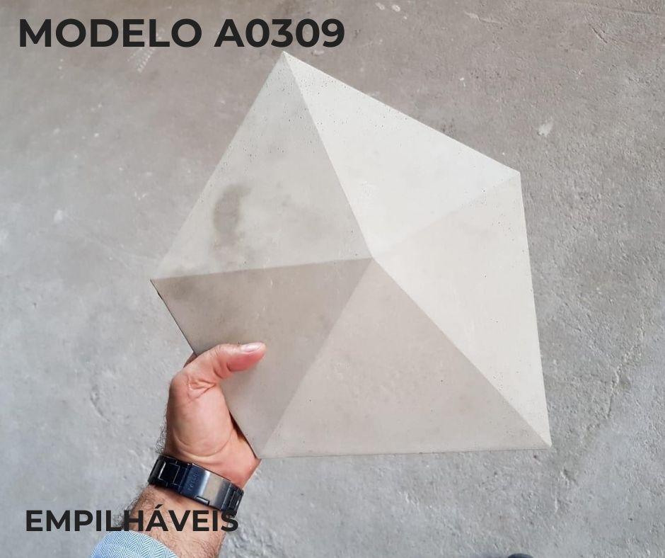 Forma em plástico injetado A0309