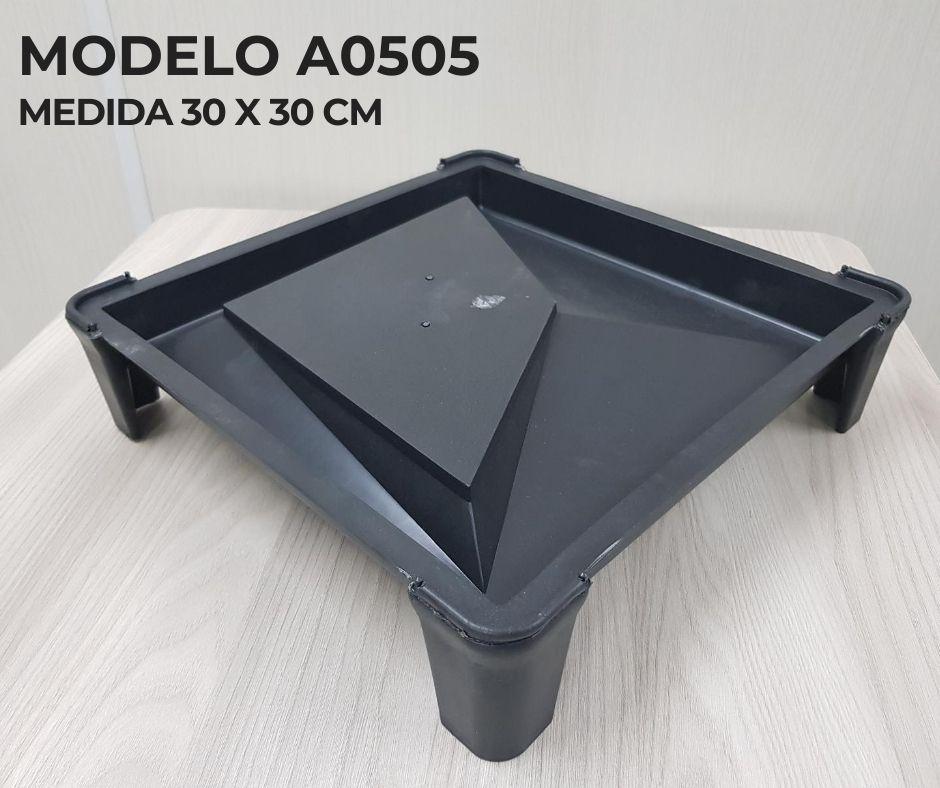Forma em plástico injetado A0505