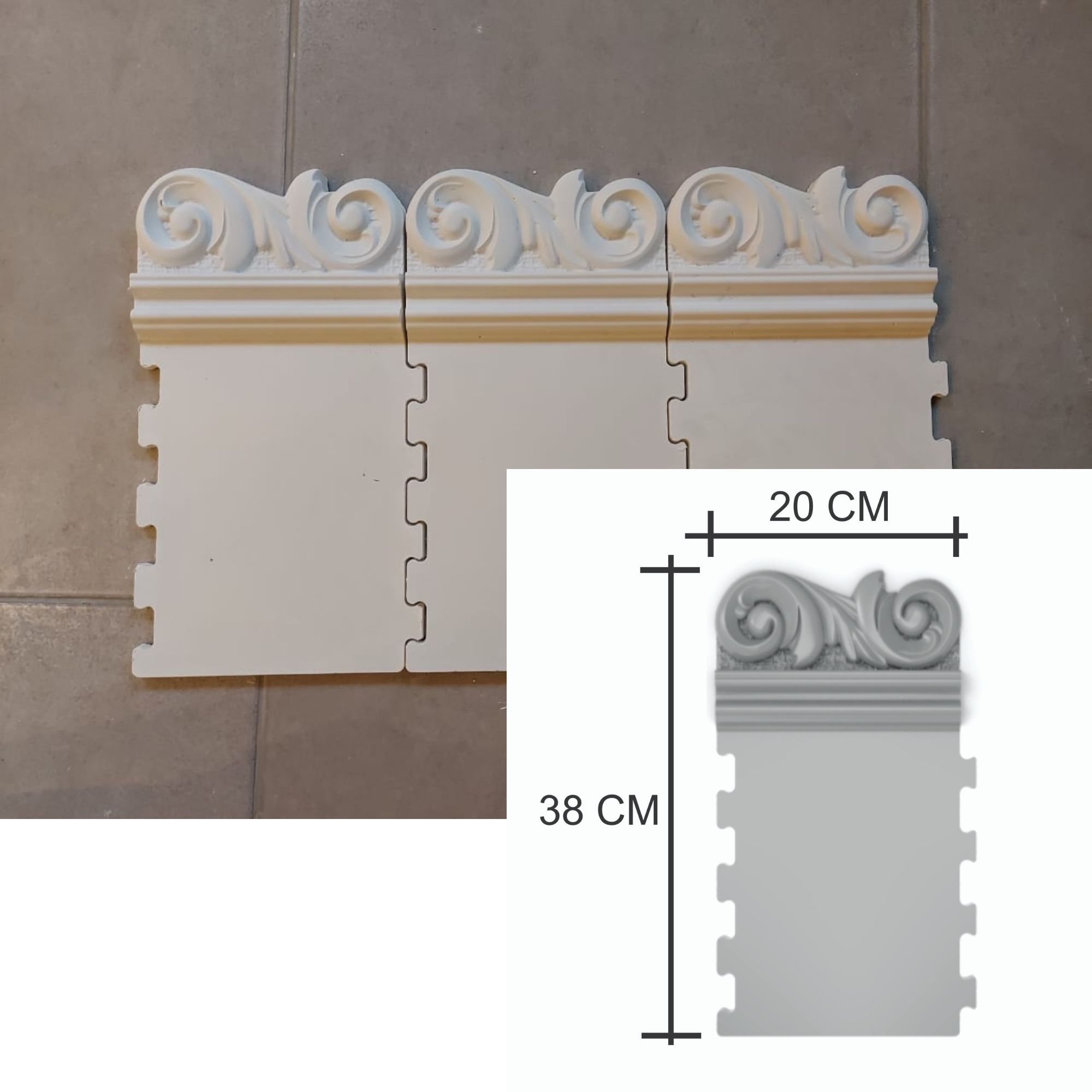 Forma para moldura de espelho em PET - ME0602