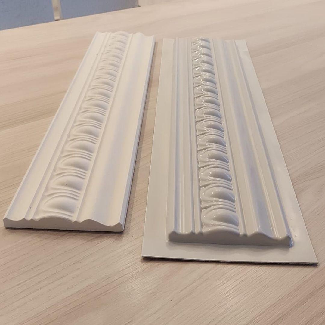 Forma para moldura de rodateto - MO0009- 1.8MM  11x50x1,5cm