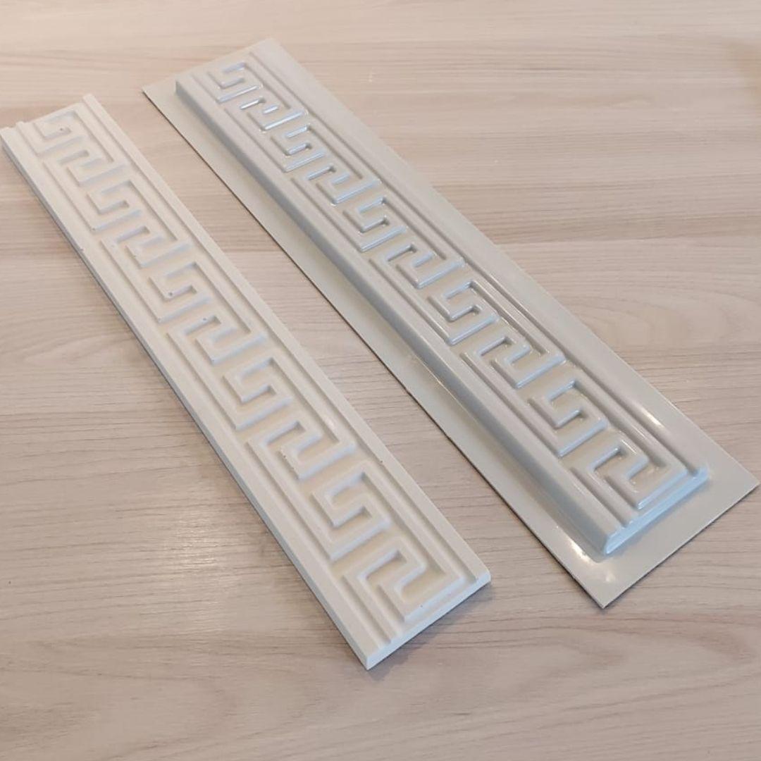 Forma para moldura de rodateto - MO0010- 1.8MM 7x50x1,4cm