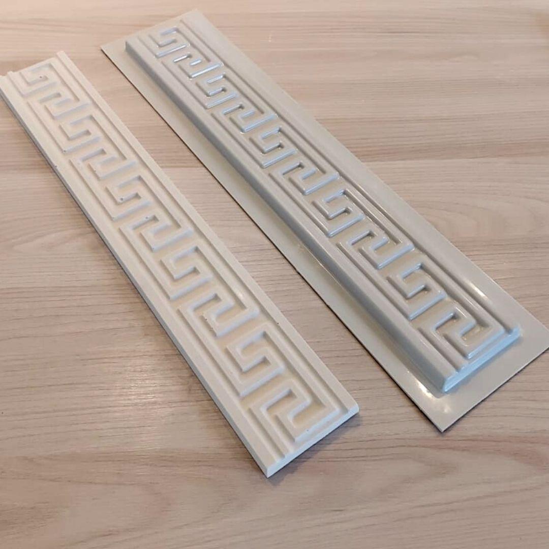 Forma para moldura de rodateto - MO0010- 2MM 7x50x1,4cm