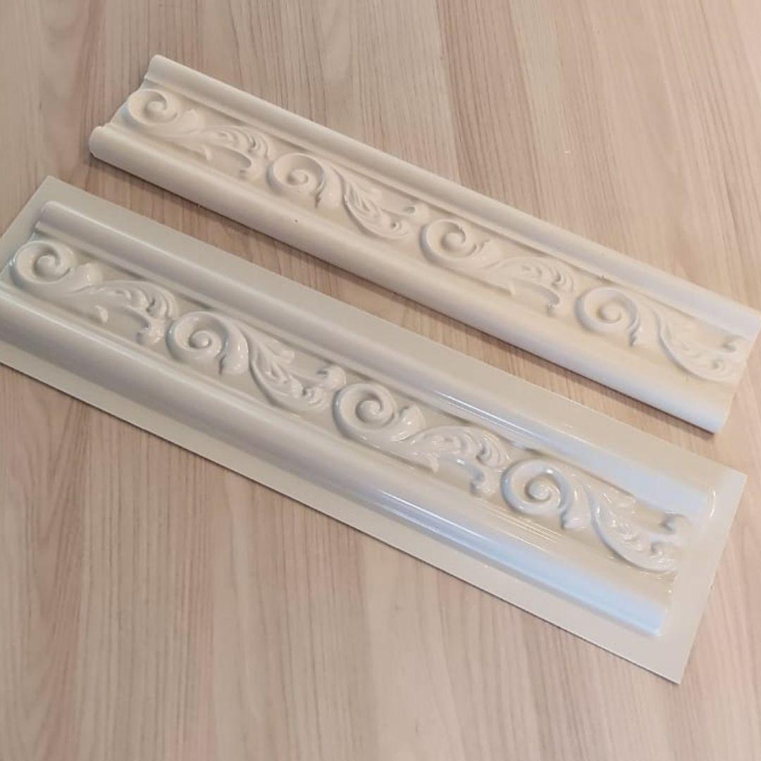 Forma para moldura de rodateto - MO0011- 2MM 10x50x1,8cm