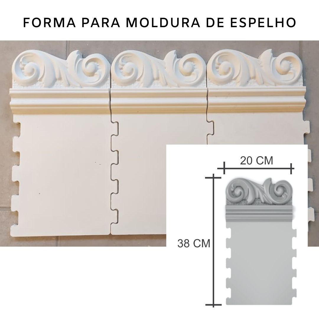 Forma para moldura de espelho em ABS - ME0602