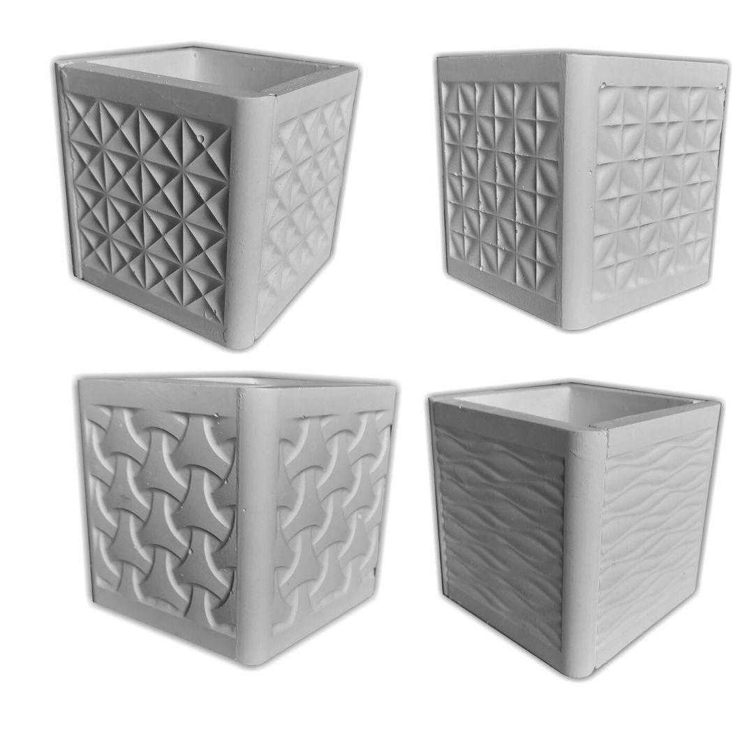 Forma Para Vasos De Suculenta ABS - VA0708