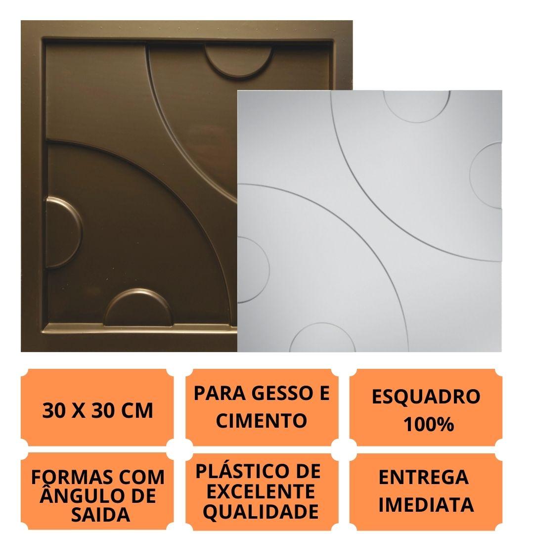 Forma Pra Gesso 3d E Cimento Pol0010